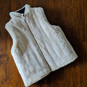 J.Crew reversible vest, Small